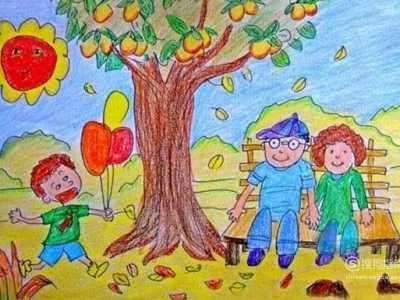 儿童画秋天 秋天来了儿童画怎么画